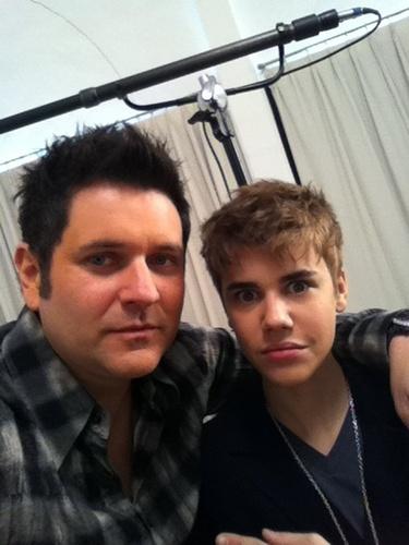 Justin Cut His Hair!!!