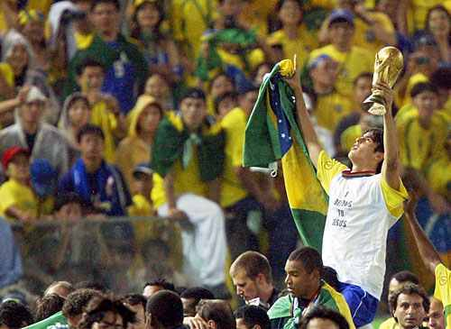 Kaka In World Cup 2002