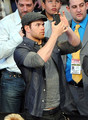 Kellan Lutz At The 2011 NBA All Star Game - twilight-series photo