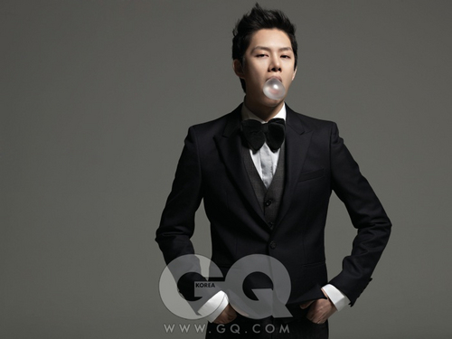 Kim Heechul in GQ Korea February 2011