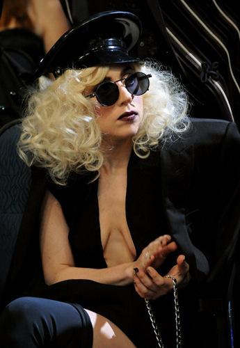 Paris Hilton & Lady GaGa wallpaper possibly containing sunglasses titled Lady GaGa