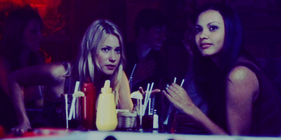 Laura & Jessica Lucas in The Covenant