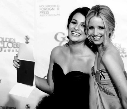 Lea Michele & Dianna Agron