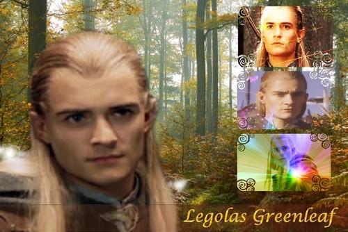 Legolas - Forest fall