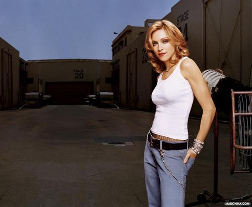"madonna ""Gap Commercial"" Photoshoot"