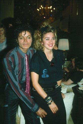 Michael Jackson and madonna [= <3
