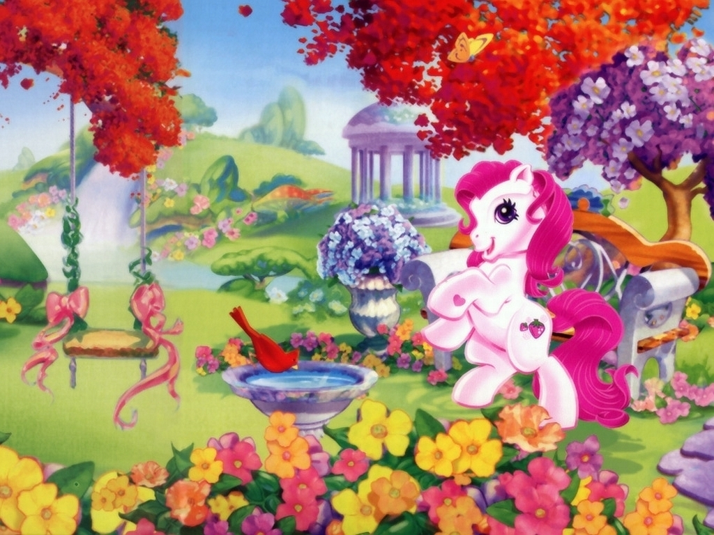 80s Toybox Images My Little Pony Pink Fairy Castle HD Wallpaper And Background Photos