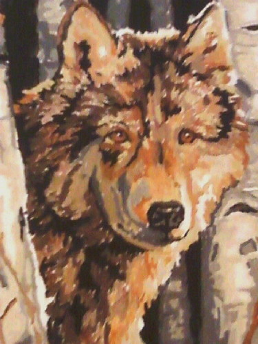 My serigala painting