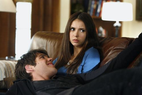 Elena Gilbert wallpaper probably with a family room called New Season 2 Stills - 2x08, 2x11, 2x14 (HQ).