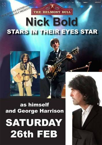 Nick Bold as George Harrison
