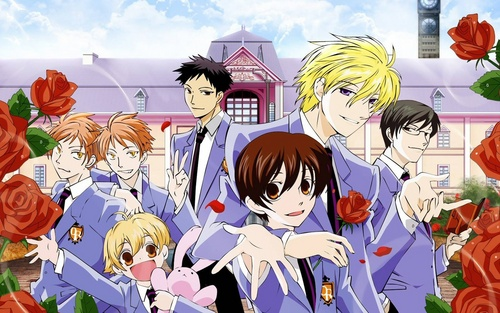 fanpop anime karatasi la kupamba ukuta possibly containing anime called Ouran High School Host Club (OHSHC)