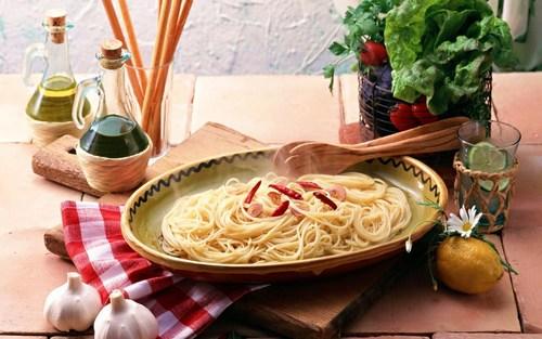 पास्ता रात का खाना