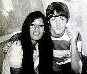 Paul McCartney and Estelle Bennett