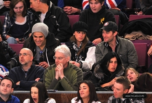 Paul Wesley,February 20th - Philadelphia Flyers Vs New York Rangers game at Madison Square Garden