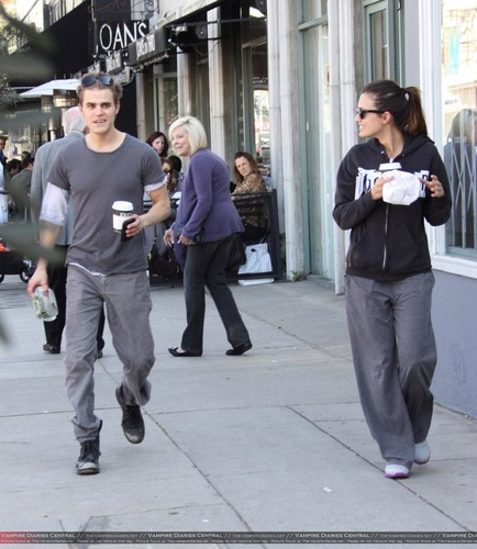 Paul Wesley & Torrey DeVitto - More pics from  Valentine's Day