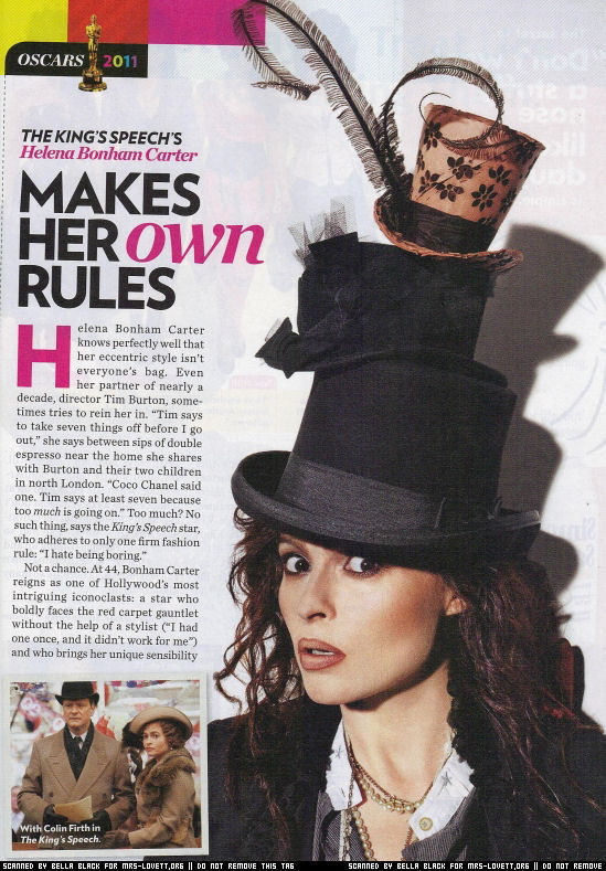 Helena Bonham Carter People Magazine