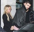 Piqué and Shakira car