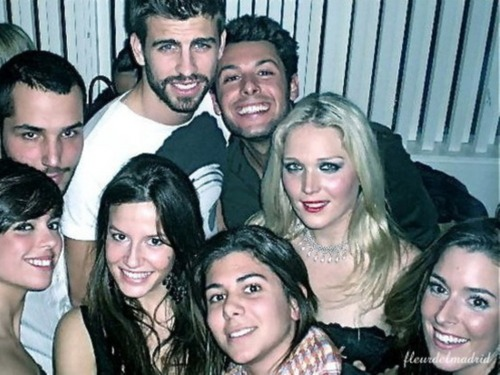 Piqué party 2010