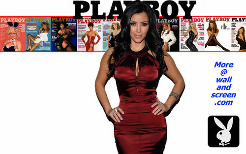 Playboy Celebrity Series 06 - Kim Kardashian - playboy Wallpaper