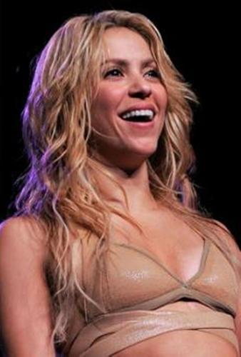 Pregnant Shakira.-.-.-.-