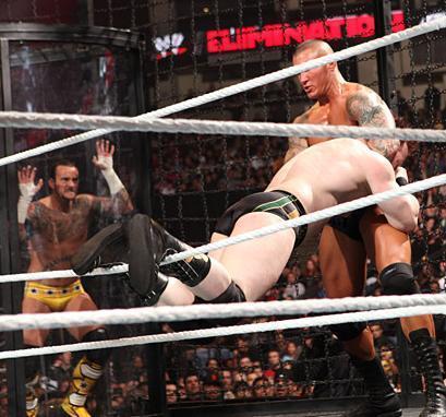 Raw Elimination Chamber Match 2011