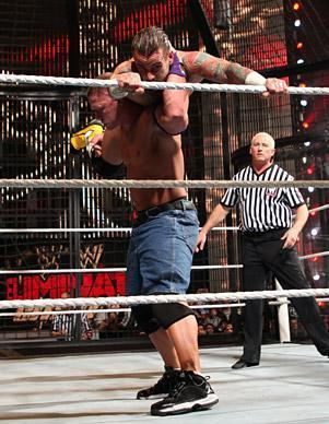 Raw Elimination Chamber Match 2011