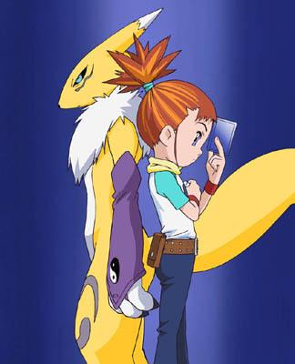 Rika and Renamon