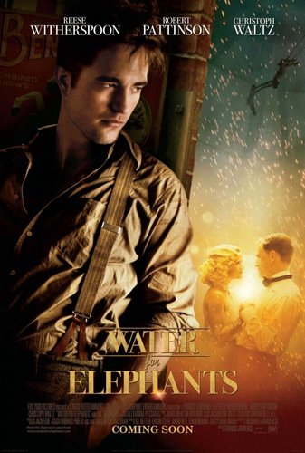 Rob's Water for Elephants Poster Now in HQ