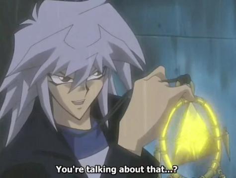 Ryou/Dark Bakura!