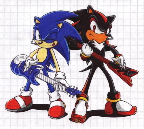 Nhím Shadow hình nền containing anime titled Shadow