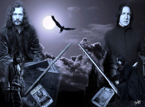 Sirius Black and Severus Snape