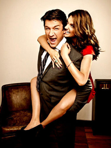 Stana&amp;Nathan &lt;3 - nathan-fillion-and-stana-katic Fan Art