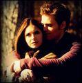 Stefan & Elena.