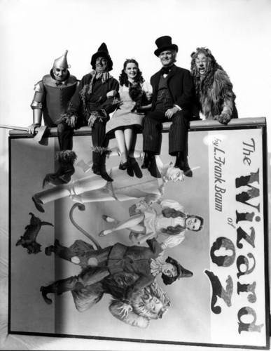 The Wizard of Oz wallpaper probably with a sign titled Stills