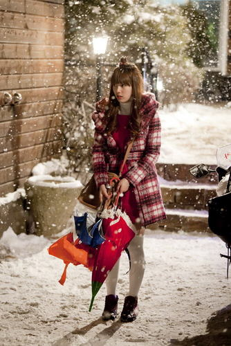 Dream High wallpaper probably with a barrow, a snowbank, and an igloo entitled Suzy as Go Hye Mi