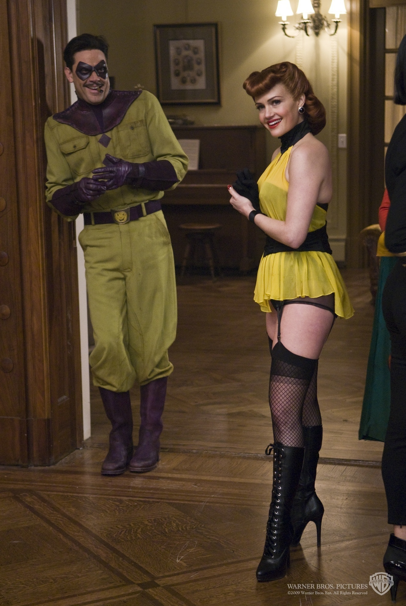 The Comedian and Silk Spectre I