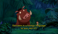 The Lion King - sarcasm screencap