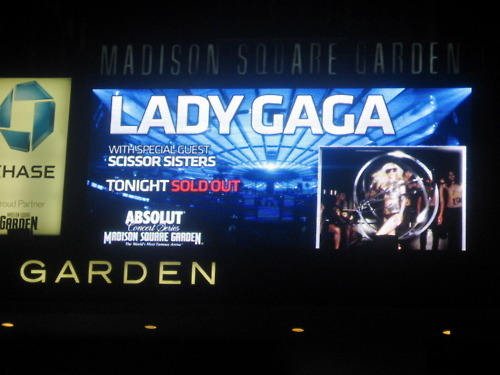 The Monster Ball - Madison Square Garden (SOLD OUT!)