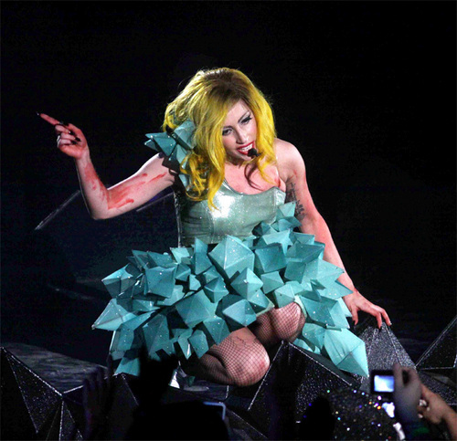The Monster Ball Tour , New York 2/21
