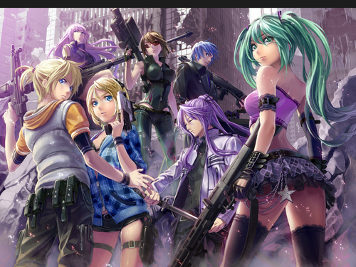 Fanpop Anime images The Vocaloid Gang HD wallpaper and background photos