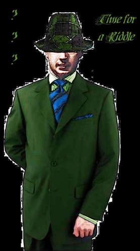Tom Hardy wallpaper containing a business suit, a suit, and a double breasted suit titled Tom 'Riddler' (Fan made)