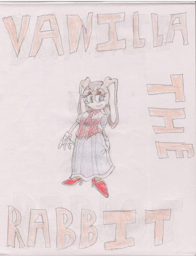 Vanilla the Rabbit. Yes, I drew this.