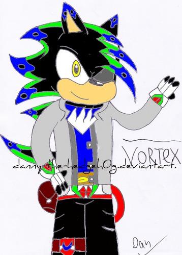 Vortex the hedgehog