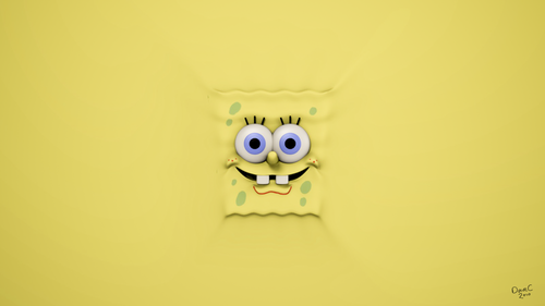 Spongebob Squarepants kertas dinding titled kertas dinding