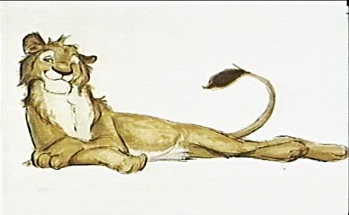 Walt Disney Characters thiết kế - Simba
