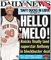 Welcome 'Mello! - new-york-knicks photo