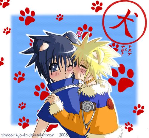 Woof Woof Sasuke