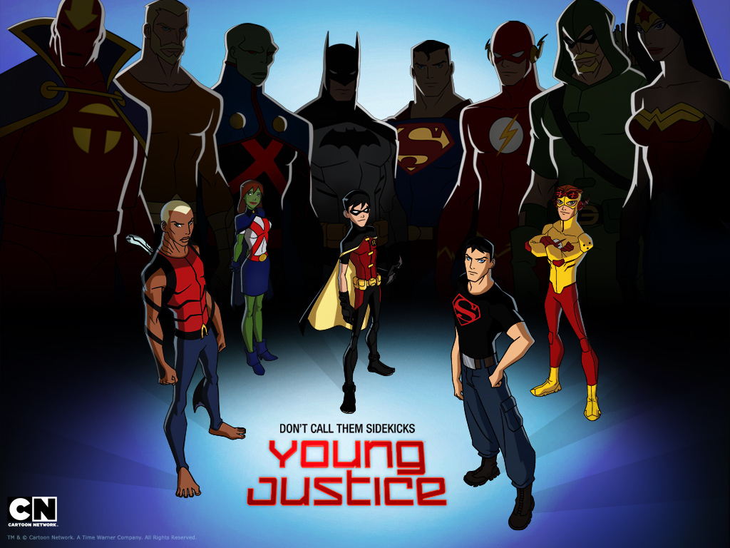 young justice young justice wallpaper 19571295 fanpop