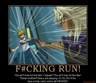 Yu-Gi-Oh motivational poster!