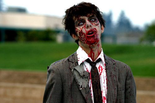 Zombies wallpaper containing a business suit called ZoMbIeS!!!!